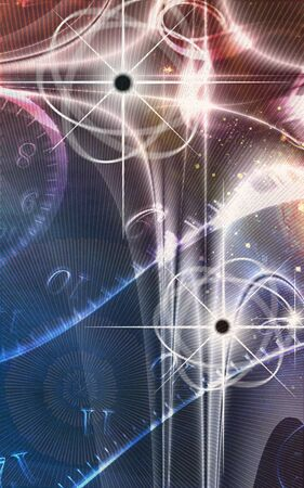 Physics. Atoms, the cosmos and time