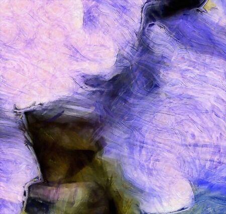 Vivid Abstract Pattern. 3D rendering 版權商用圖片