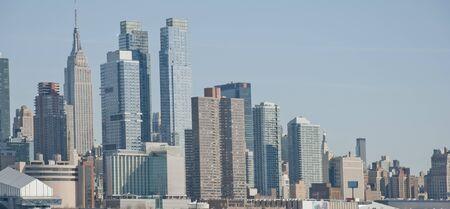 Manhattan panorama. New York. USA 写真素材 - 129407823