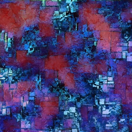 Abstract pattern in red and blue colors