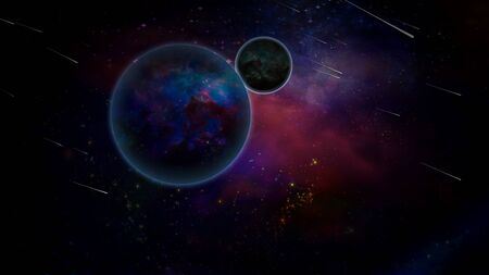 Exoplanets in colorful Universe
