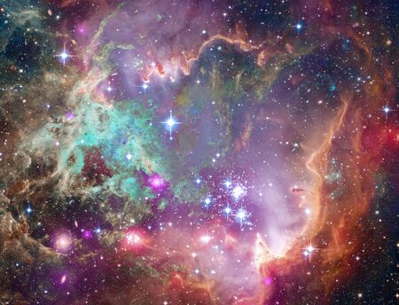 Vivid space. Big Babies in the Rosette Nebula