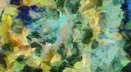 Abstract Painting. Brush strokes in pastel colors Banque d'images - 134852640