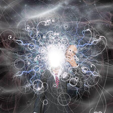 Powerful being reveals true self