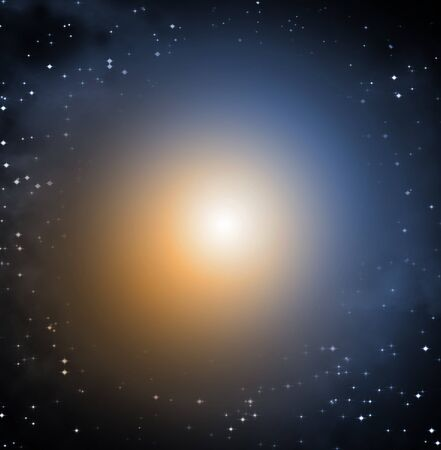 The Light in starry space
