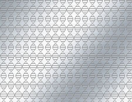 DNA strand background. 3D rendering