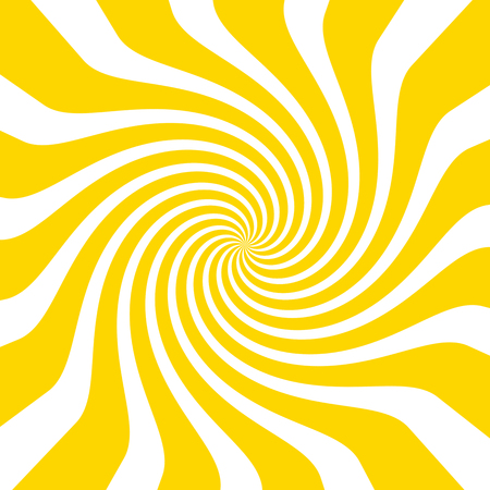 Yellow white circles waves floating style - concept pattern colorful design structure decoration abstract geometric background illustration fashion look backdrop wallpaper abstract decoration graphic