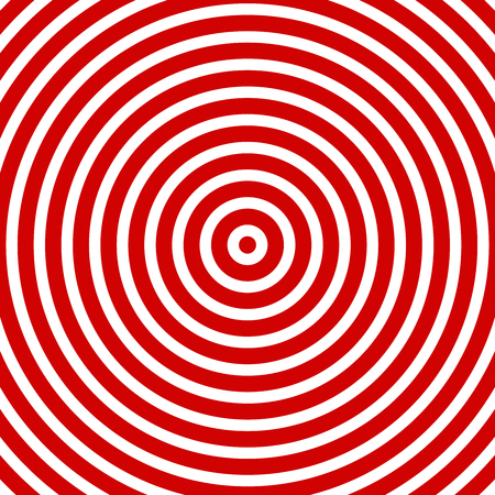 Red white circles focus target style - concept pattern colorful design structure decoration abstract geometric background illustration fashion look backdrop wallpaper abstract decoration graphic