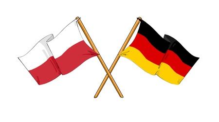 Polish - German alliance and friendship