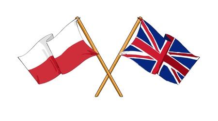 truce: Polish - British alliance and friendship