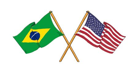 American and brazilian alliance and friendship