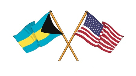 American and Bahamian alliance and friendship