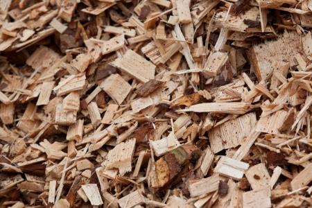 carpenter's sawdust: planking Stock Photo