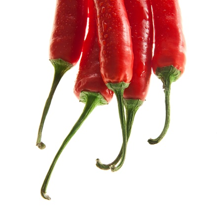 decorative chilli peppers Stock Photo