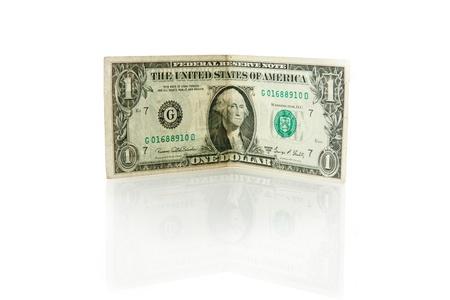 dolar: one dolar bill