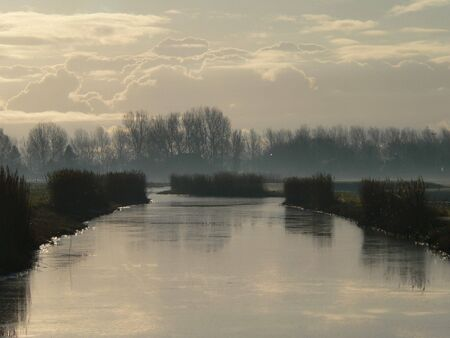Polder ditch Stock Photo - 6563202