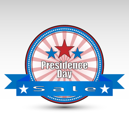 grange: vector grange stamp of sale Presidents Day.For you project
