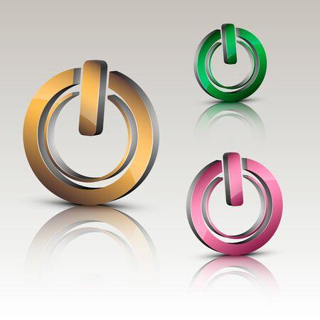 Power on logo
