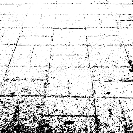 vector background of grunge paving slabs