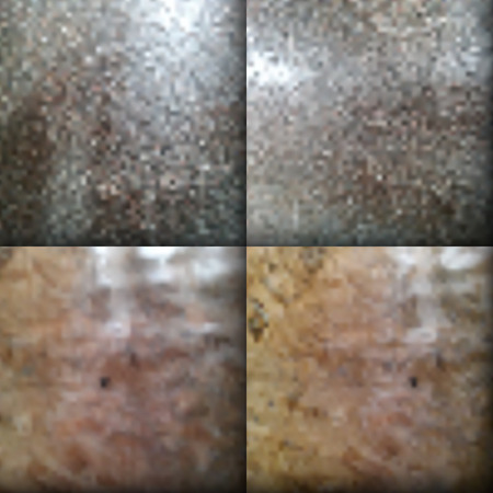 The vector gradient mesh texture of rusty iron