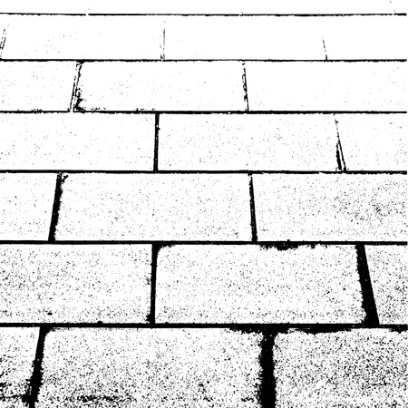 The vector background of grunge paving slabs texture