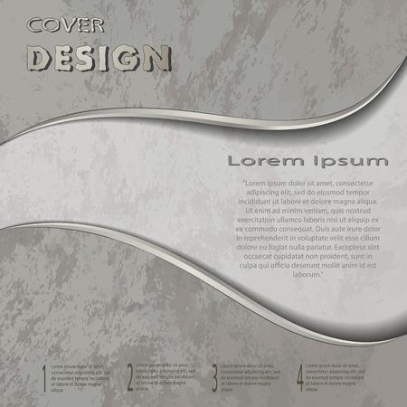 The vector conceptual textured cover template.Bbrochure,flyer,presentation