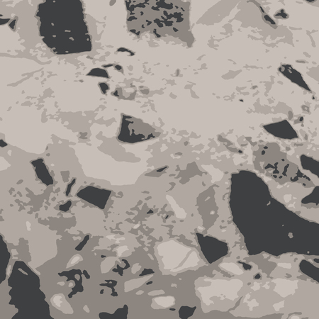 Grunge texture stone and granite for different decorative design.Vector pattern