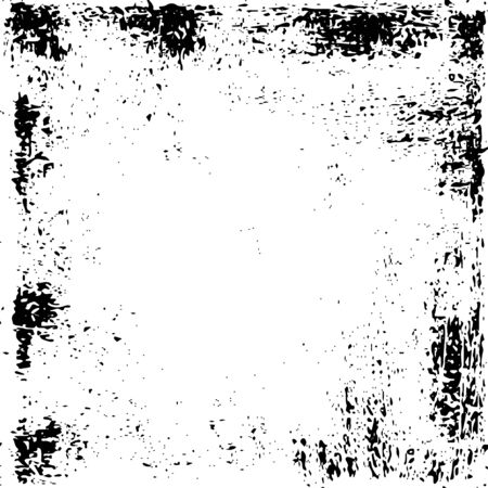 Grunge distress texture.Vector abstract background.Black and white pattern