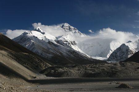 Mount Everest Stock Photo - 4337155