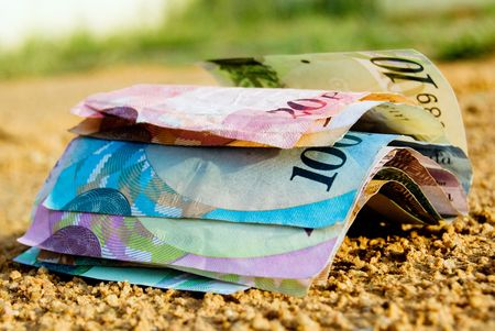 lost money Stock Photo - 7260175