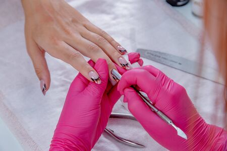 the plan of the manicure correction procedure is large.