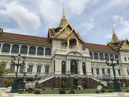 Landmark in Bangkok, Dusit Maha Prasat, bangkok, city