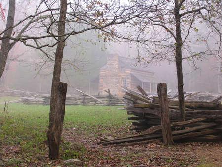 retreats: old cabin