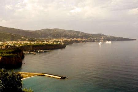 Coast Italy Reklamní fotografie