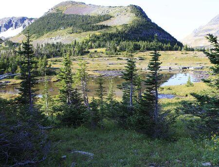 glacier park, Logans pass