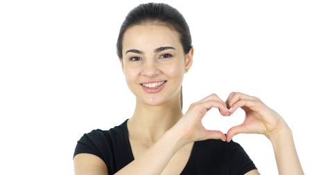 Handmade Heart to Express Love by Woman
