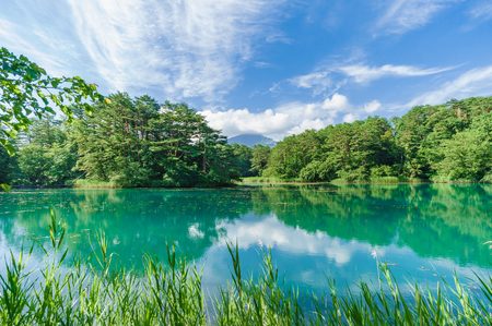 Japanese landscape-goshiki numa-ura -fukushima