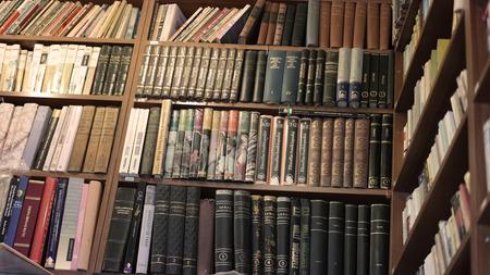 antiquarian: old books in antiquarian Editorial