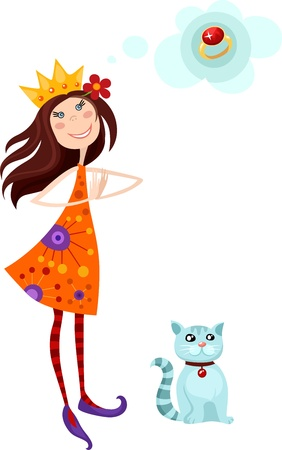 princess Stock Vector - 9456759