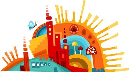urban planning: city