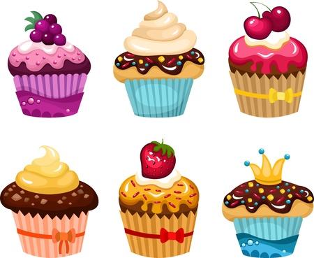 cake set Stock Vector - 11374661