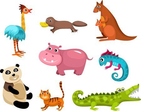 animals set Stock Vector - 14613234