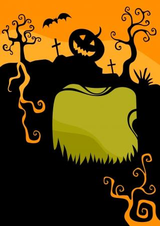 halloween card Illustration