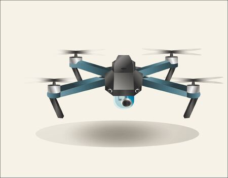 a drone that can fly and a camera that can take pictures and videos