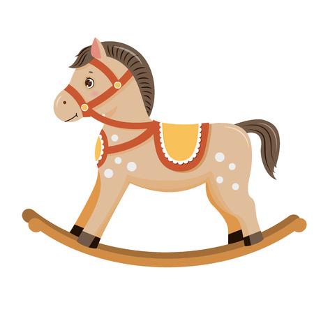 Rocking horse baby toy
