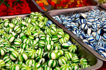 background of colorful and delicious candies