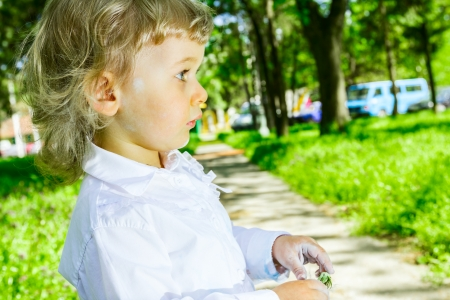 'body language': Creative little hands vs. body language, spring time.