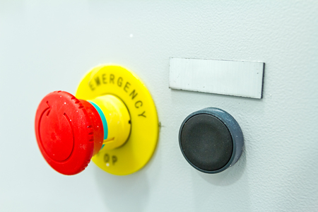 cease: Emergency stop buttons must be obvious to see and simple to operate