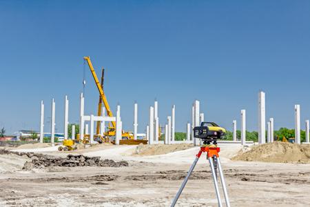 tacheometer: Surveyors ensure precise measurements before undertaking large construction projects.