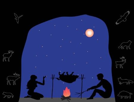cave Stock Illustratie